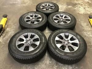 18 JEEP WRANGLER WHEELS, TIRES AND SENSORS (SET OF 5) Calgary Alberta Preview