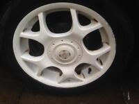 Mini Cooper S X-lite alloys with Pirelli runflat tyres 4x100