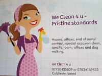Cleaning - END OF TENANCY - Colchester Areas- End of Tenancy/One offs or regular general cleans.
