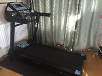 XTERRA Trail Racer Treadmill with equipment protective mat for the floor. Collection Only