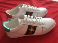 New ace bee women's trainers, size 6, Gucci style