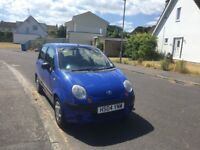 Daewoo Matiz 1L, UNDER 29000 MILES, Blue