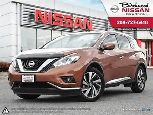 2015 Nissan Murano LOCAL! ONE OWNER! LEATHER! COOLING SEATS! Pla