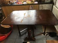 Vintage Antique Kitchen Table