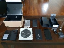 Immaculate Samsung S8 64GB Black Factory Unlocked Warranty Wireless Charger FIRST TO SEE WILL BUY