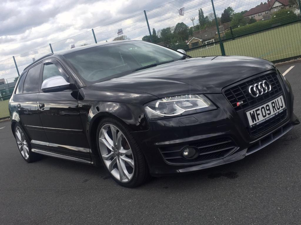 2009 audi a3 2 0 tdi sline black edition s3 lookalike replica sportback 80k mileage bargain. Black Bedroom Furniture Sets. Home Design Ideas