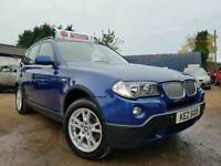 2007 MODEL LCI FACELIFT BMW X3 3.0d SE 4X4 231bhp Auto, BEAUTIFUL EXAMPLE! SAT-NAV! FSH! FULL MOT!