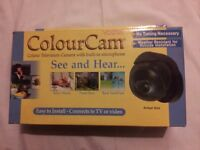 CHARITY SALE: COLOUR CAM - Colour security camera with built in microphone