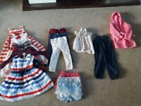 Girls clothes age 1 and half to 2. In v good condition