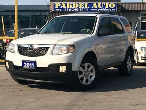 2011 Mazda Tribute *ACCIDENT FREE*LEATHER*SUNROOF*FULLY LOADED*