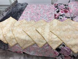 Sofa Cushion Covers & Sofa Back Covers - 12 pieces