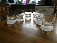 Dartington whisky glasses