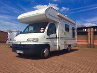 1999 BESSACARR E425 4 berth fiat ducato Diesel Only done 32k!!!