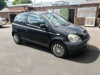 Toyota yaris GS 998CC 65K MILES 12 MONTH MOT only £695