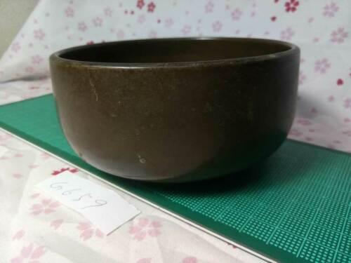 "BIG 4.744"" Japanese Vintage Buddhist Bell Zen Gong Rin G659 Good Sound"