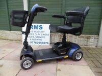 Pride GoGo Elite Traveller LX 4mph Car Boot Scooter. In excellent condition