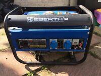 EBERTH 6.5HP/4.8kW petrol generator 4 stroke, 3000W As a spare. Easy fix