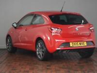 SEAT IBIZA 1.4 TSI ACT FR Edition 3dr (red) 2015