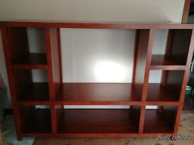 Belgica Entertainment Unit Merbau wood, limited piece, will fit up to 42 inch TV, REDUCED FURTHER !!