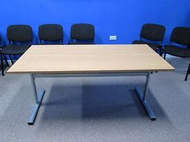 Folding Conference Tables. Heavy weight tables are 1 year old, hardly used.