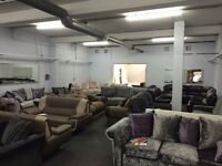 BRAND NEW LIVING/DINING ROOM/BEDROOM FURNITURE!SOFAS/BEDS/WARDROBES FROM £99 CHEAPEST IN NOTTINGHAM
