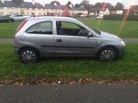 Vauxhall Corsa club, 1.L-petrol, full MOT