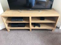 Ikea Bestå TV Stand - Oak effect