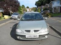 RENAULT MEGANE 1.9 FIDJ DIESEL UNWANTED PART EXCHANGE TO CLEAR