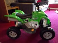 Kids 6v electric quad bike