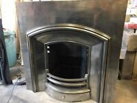 Period Arch cast iron Insert fireplace