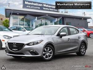 2015 MAZDA 3 GX-SKY AUTOMATIC |BLUETOOTH|UNLIMITED KM WARRANTY