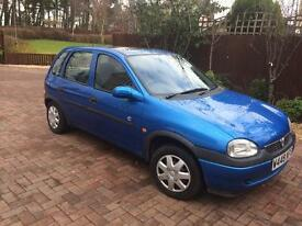 Vauxhall corser 1.2 only 39,000 miles 1 years mot