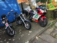 Stunning aprilia rs 125 motorbike for sale
