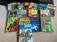 Sixteen Enid Blyton Famous Five Books