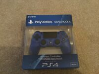 PS4 PlayStation dual shock controller, brand new in box.