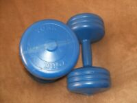 York 5kg Dumbell's x 2 good condition