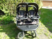 Baby trend double buggy