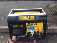 Generator. Champion Generator 9kva