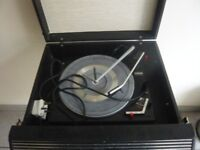 vintage bush record player£40
