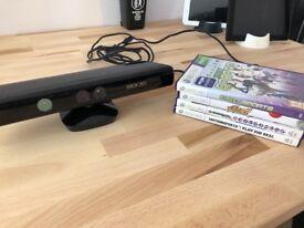 Xbox 360 Kinect w/ games bundle
