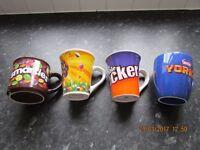 Easter Mugs x 4