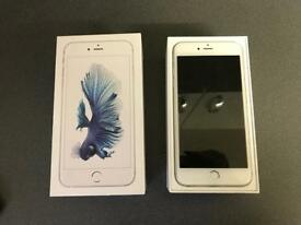 iPhone 6S Plus - 64GB - Silver - Used on EE - Boxed