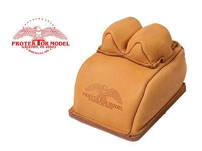 Bunny Ear Rear Bag - PROTEKTOR MODEL - #14BF BUNNY EAR REAR BAG LEATHER GUN REST - MADE IN USA 100%
