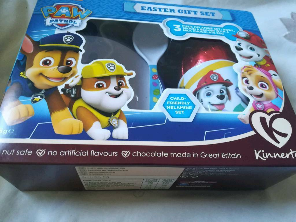 New paw patrol easter egg gift set in sighthill edinburgh gumtree new paw patrol easter egg gift set negle Image collections
