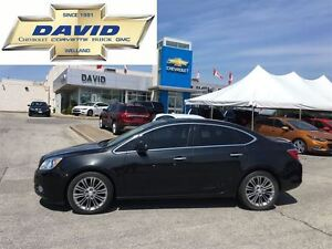 2013 Buick Verano LEATHER 1SL, LOADED, LEATHER, ROOF, RSTR !!!