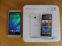HTC One Mini - 16GB - Gunmetal Gray Smartphone - Spares or repair