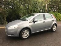 **ONLY 71K**2009 FIAT PUNTO GRANDE ACTIVE 77 1.4 LONG MOT,LOW MILES