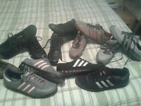Job lot of Adidas trainers