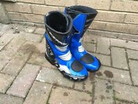 Askew X7 size 7 Moto cross quad bike motor bike boots