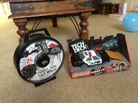 Tech deck police car,Ramps and sk8 wheel brand new